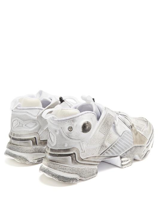 Reebok x Vetements Pump Sneakers