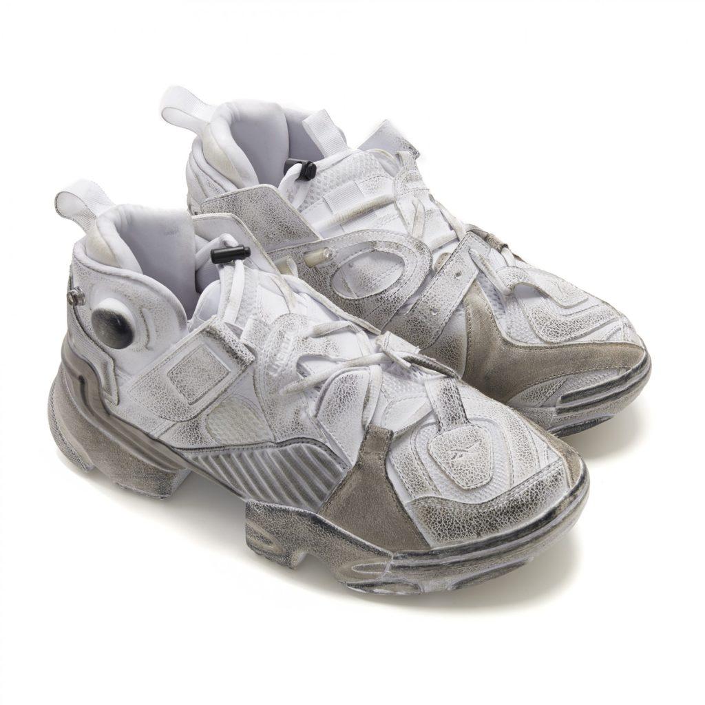 Sepatu Reebok Vetements Genetically Modified Pump