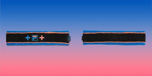 FILA x Pink Dolphin collaboration heritage wave headband