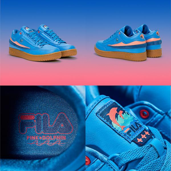 FILA x Pink Dolphin T1-Mid Ghost (Blue)