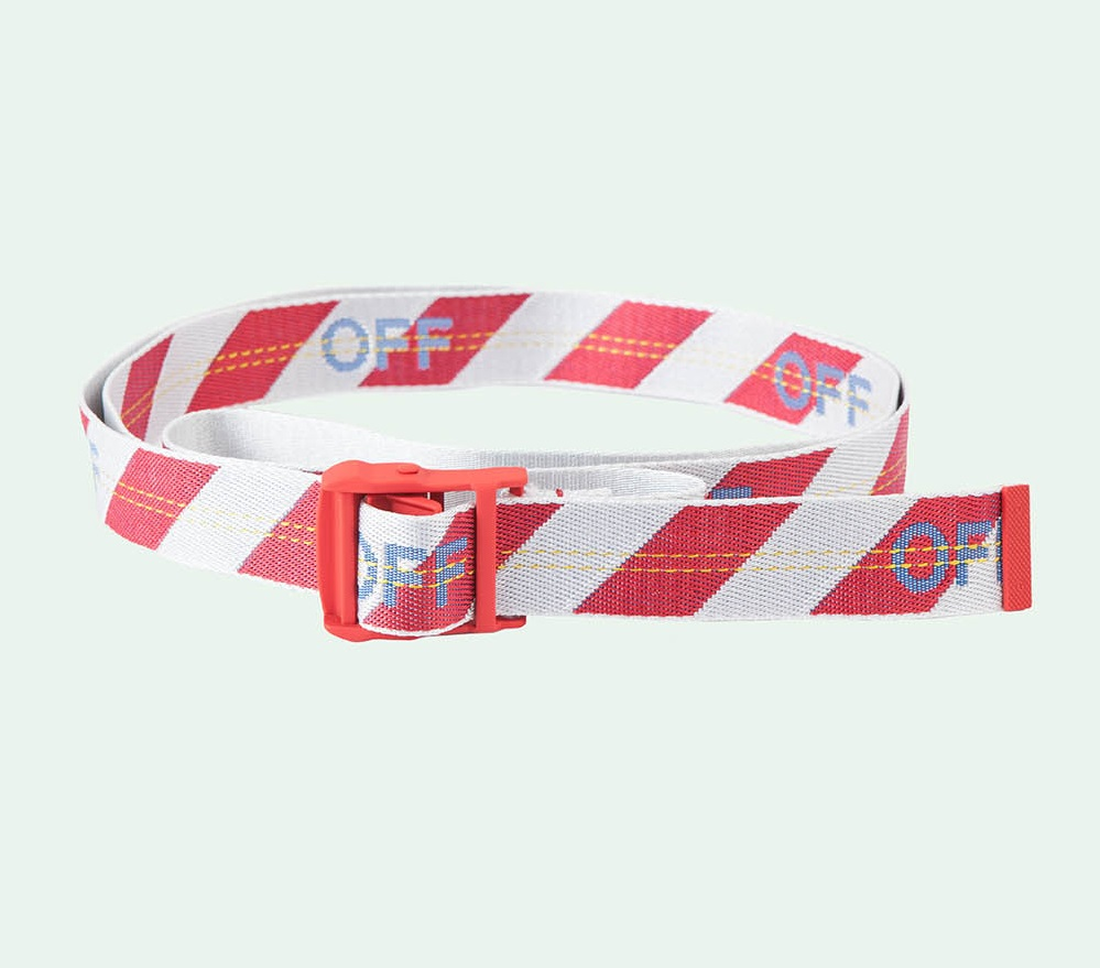 Sabuk Off White Industrial Belt Diag
