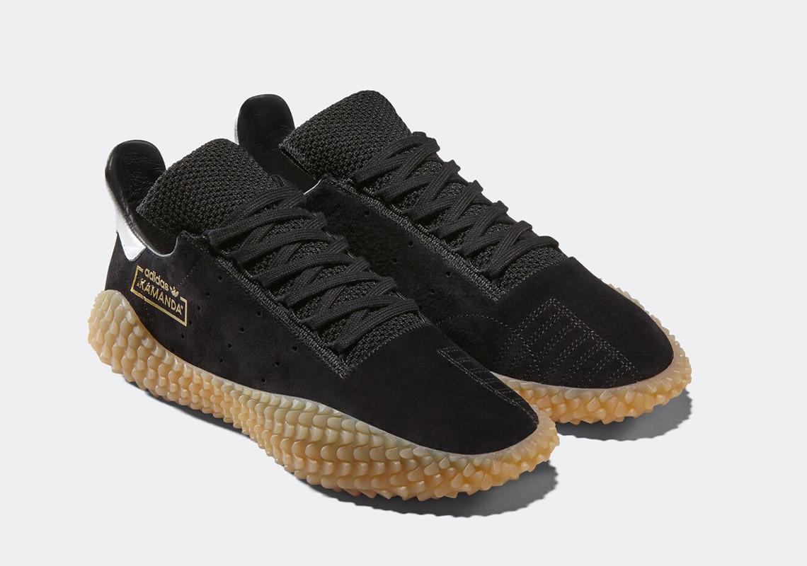 Sneaker adidas Kamanda 2018 Black Gum - Sepatu adidas originals terbaru - info rilis, warna, dan harga Indonesia