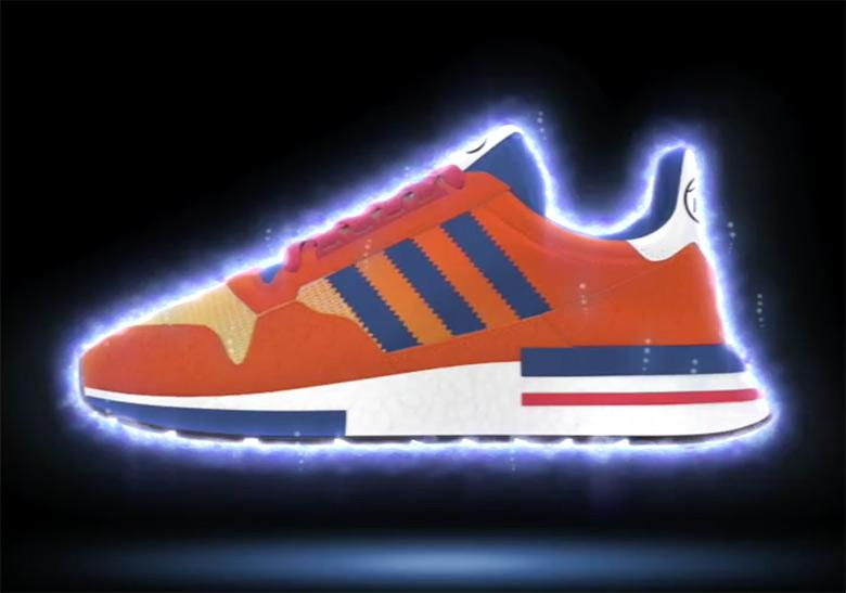 Sepatu adidas dragon ball ZX 500 RM Son GOKU