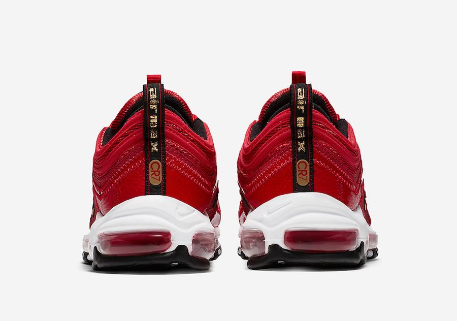 Sneakers 2018 - Sepatu Nike Air Max 97 CR7 Cristiano Ronaldo University Red