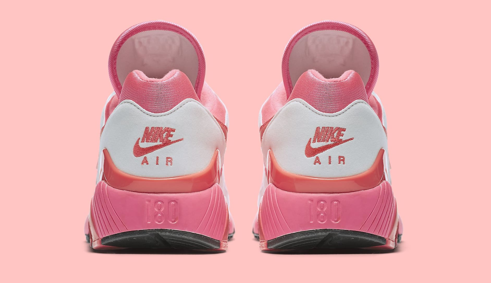 Sepatu Nike Air Max 180 x Comme des Garcons CDG 2018 - Pink White