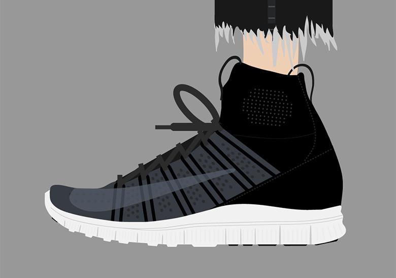 Sepatu Nike Mercurial - HTM Nike Free Flyknit Mercurial SP (2014)