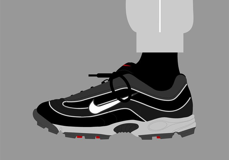 Sepatu Nike Mercurial - Air Zoom Mercurial Trainer 1998