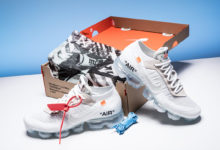 Photo of Detail Sepatu Off-White x Nike Air Vapormax 'White' 2018