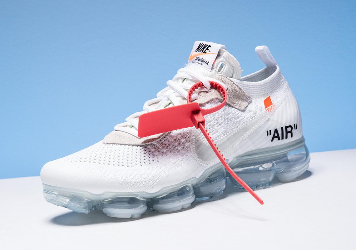 Sepatu Off White x Nike Air Vapormax Sneaker 2018 - Info, Harga, Rilis, Warna, Detail Terbaru