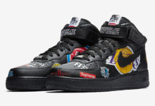 Photo of Sepatu Supreme x NBA x Nike Air Force 1 Mid 2018