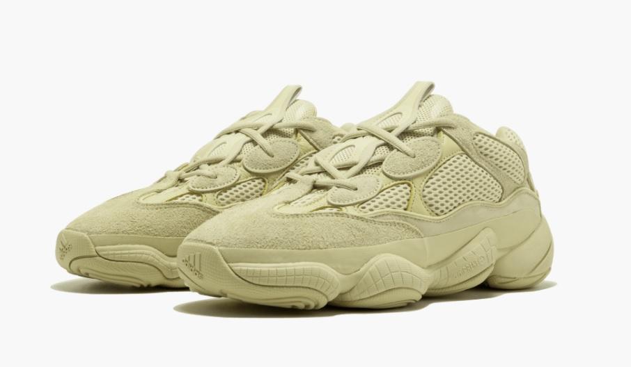 Sepatu Yeezy 500 'Desert Rat' 2018 - Super Moon Yellow - Info Rilis, Harga Jual & Beli, Impor, dan Rumor Terbaru Adidas Yeezy