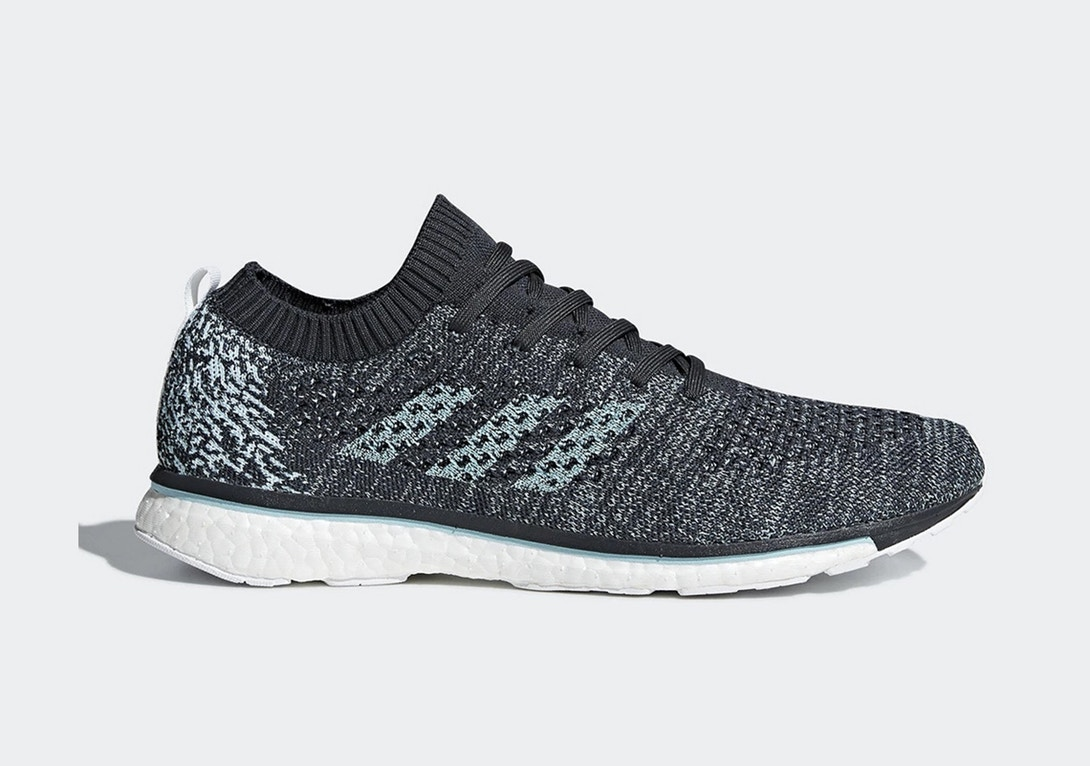 Sepatu adidas x Parley For The Oceans - Adizero Boost Prime x Parley 2018 Sneakers Terbaru