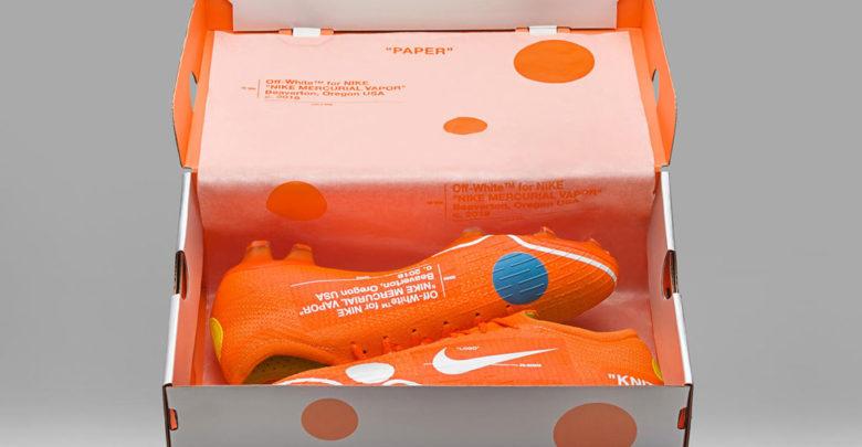 Sepatu Off-White x Nike Mercurial Vapor 360 - Sneaker Off White 2018 Terbaru Virgil Abloh