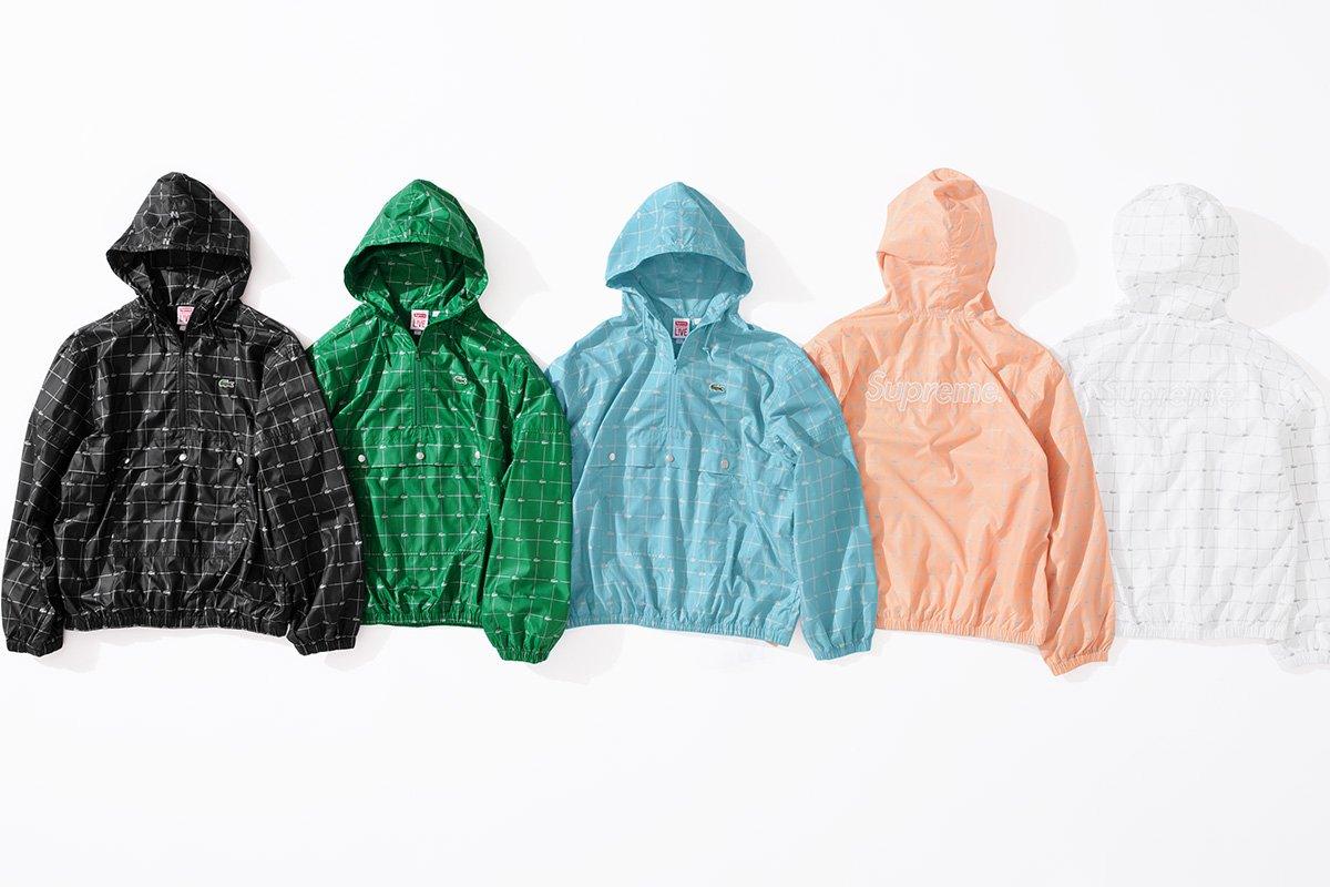 Nylon Anorak & Track Pant Supreme x Lacoste 2018 - Info Rilis Jaket Supreme Lacoste Nylon - Harga Supreme Terbaru 2018