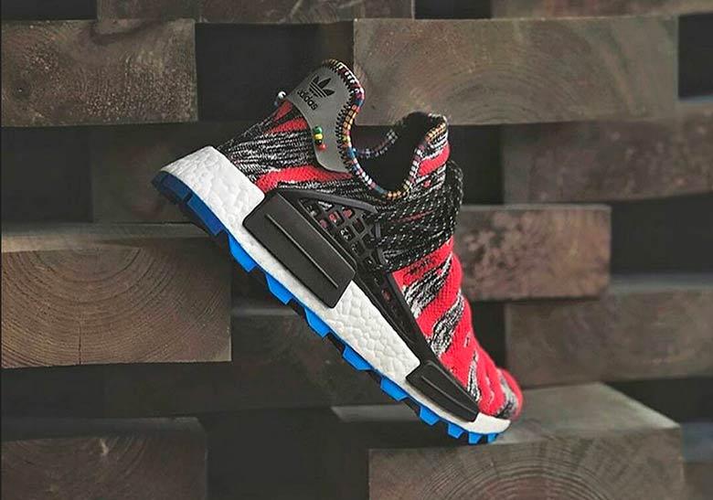 Sepatu adidas NMD Afro HU Pharrell Williams 2018 - Sneaker adidas originals terbaru - Info Rilis