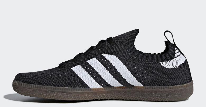Sepatu adidas Samba Primeknit - Sneaker adidas baru 2018 - Black - Info Harga Rilis Review dan Detail Produk