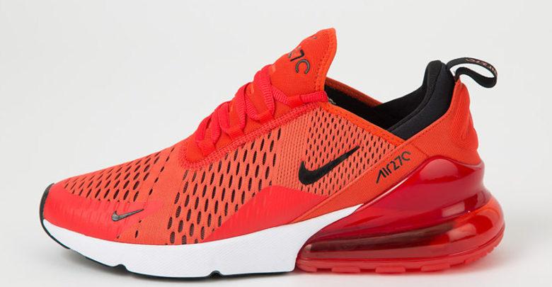 Sepatu Nike Air Max 270 Habanero Red - Sneaker Air Max 270 Terbaru 2018 - Info Rilis & Harga