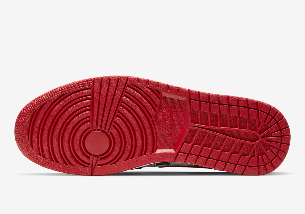 Sepatu AIr Jordan 1 Mid Newspaper Sneakers Terbaru 2019