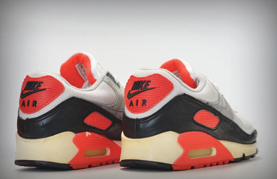 Sepatu Nike Air Max 90 Infrared OG - Sneakers Klasik Nike 90an - Info Rilis dan Harga Terbaru 2020