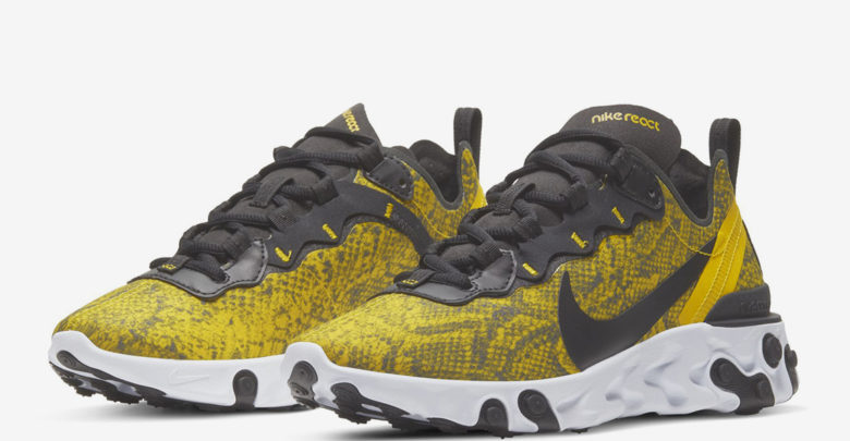 Photo of Sneakers Nike React Element 55 Snakeskin, Eksotis!